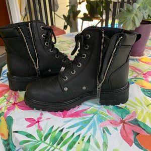 Harley Davidson riding boots size 8